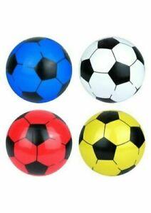 "9"" Football PVC Ball Kids Childrens Outdoor Training Toy Garden Game"
