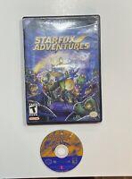 Starfox Adventures (Nintendo GameCube, 2002) No Manual Replacement Case