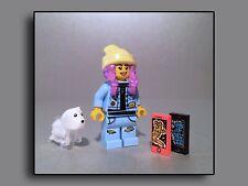 PARKER JACKSON mit Hund Geist Spencer Lego Figuren Minifiguren Hidden Side