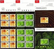 EUROPA CEPT 2011 DER WALD - ISLAND MH 1306-07 MARKENHEFT **