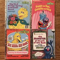 Little Golden Books Sesame Street - Monster At The End Of This Book Spring Happy
