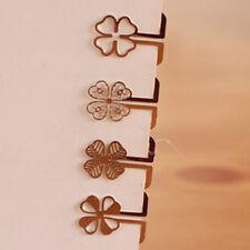 Cute Mini 100pcs/lot Metal Bookmark Book Marks School Kid Children Clips Gifts