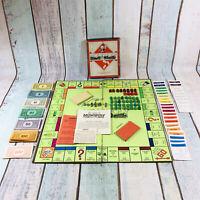 RARE Waddington 1940s MONOPOLY Game Complete VINTAGE