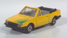 """Vintage Generic Ford Escort Cabriolet 2.75"""" Diecast Scale Model Yellow"""