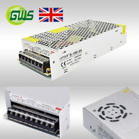 LED Driver Power Supply Transformer DC12V IP67 Waterproof 24W-360W DIY Strip UK