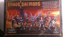 * 97-09 GAMES WORKSHOP CITADEL Chaos Daemons of Slaanesh
