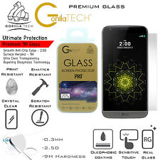 New LG G5 Genuine Gorilla Tech Brand Screen Protector Tempered Glass Film
