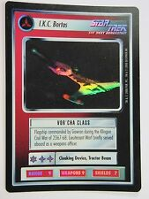 FOIL I.K.C. Bortas Reflections 2000 Decipher RARE Star Trek CCG SP/NM (x1)