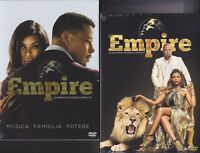 9 Dvd x 2 Box Cofanetto EMPIRE ~ PRIMA STAGIONE 01 +SECONDA STAGIONE 02 completa