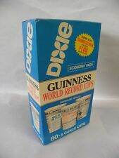 "Sealed ""80""  9 OZ VINTAGE DIXIE CUPS  ""GUINESS WORLD RECORD CUPS"" (A5)"