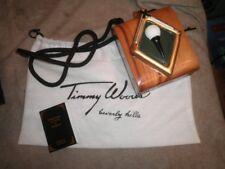 Timmy Woods Beverly Hills Golf Ball on Tee Handbag Bag Par Nat Purse Clutch