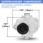 Amr500 Supercharger Mini Roots Compressor Mechanical Turbocharger Blower Booster