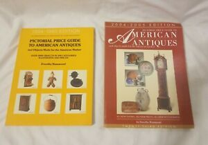 Lot of 2 - Pictorial Price Guide To American Antiques by Dorothy Hammond