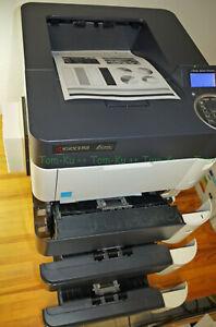 Laserdrucker Kyocera FS-4100DNTT = 4100DN + 2xPF 143600 Drucke **TOP