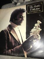 """2) Johnny Mathis The Collection 40 Of My Favourite Songs 12"""" Vinyl Double Album"""