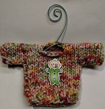 Multicolored New Baby  Mini Sweater  Christmas Ornament