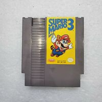 Super Mario Bros. 3 -- Nintendo NES RARE First Print Left Bros Game Only