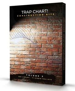 Trap Chart 71 Construction Kits Volume 3 FL Studio Logic MPC Cubase Ableton MPC