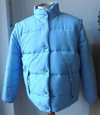 Jeantex señora chaqueta, reitjacke, chaqueta de inflexión, azul/gris, talla 42, mangas desmontable
