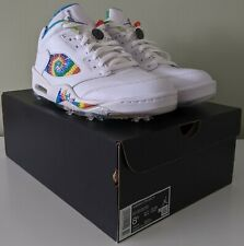 New listing Brand New Men's Air Jordan 5 Low G Tie Dye NRG Golf Shoes Size UK 7.5