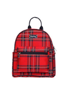 ROYAL STEWART TARTAN CASUAL DAYPACK SIGNARE TAPESTRY CANVAS WOMEN BACKPACK GIFT