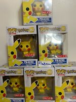 Funko Pop! Games Pikachu Pokemon Nintendo Authentic Exclusive In Hand Ships Now