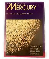 🌟The Atlas of Mercury By Charles Cross & Patrick Moore, 1977, Astronomy Book