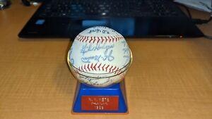 1969 Original New York Amazing Mets Facsimile Autographed Souvenir Ball PD