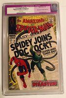 Amazing Spider-Man #56 CGC APP. 9.0 SLIGHT RETOUCH LABEL READ! Marvel 1968 DocOc