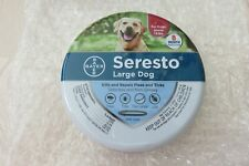 Bayer Seresto Flea and Tick Collar for Large Dogs - 85588303 New/Never Opened!!
