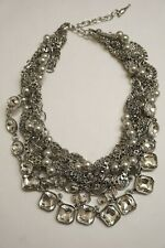 stone and Pearl Statement Necklace-3 Nwot Chloe + Isabel Crystal