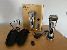 Braun Series 9 Wet and Dry Shaver 9260ps. Boxed, Excellent