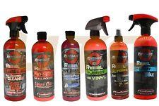 Rebel Liquid Detailing DIY Rubber Vinyl Cleaner Spray Wax Chrome Polish (6 PCS)