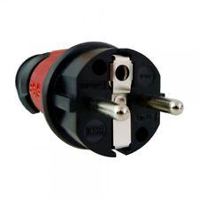 Earth Contact Plug Uni-Schuko 16A 230V IP44 Red 7373 Bals 2487