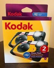 Kodak Hd Power Flash Single Use Disposable Film Camera (2-Pack)