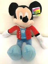 "LARGE MICKEY MOUSE PLUSH 22"". CHRISTMAS DISNEY TOY. NWT."