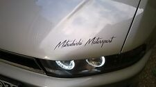Mitsubishi Motorsport Auto Aufkleber Sticker Folie Sports Mind Limited Edition