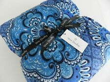 Vera Bradley Super Soft Micro-Fleece Throw Blanket Blue Tapestry NWT