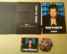 Press kit Germany~ RANSOM ~Mel Gibson ~Rene Russo ~Brawley Nolte ~Ron Howard