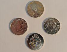 Lot 4 Mini Médailles Monnaie de Paris Harry Potter 2021 - L07