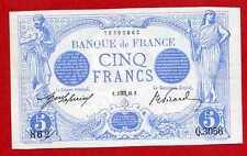 (Ref: Q.305) 5 FRANCS BLEU AOÛT 1913 (marge coupée) SUP