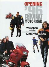 BMW opening prospetto MOTORE 1996 K 1100 LT RS R 1100 RT R 80 GS BASIC f650 MOTO