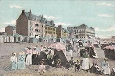 """WIMEREUX 1675 coin de plage pub verso magasin chaussures """"au sans pareil"""" timb."""