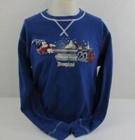 Disneyland Resort 2013 Believe Magic Adult Large Shirt Blue Long Sleeve