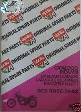 APRILIA catalogo ricambi RED ROSE 50-92