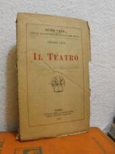 IL TEATRO di CESARE LEVI     (C08)