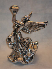 Silver Angel Taper Candle Holder ~ NEW ~ PRETTY!!!