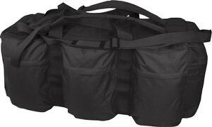 Combat Army Tactical Assault Kit Travel Shoulder Bag Rucksack HoldAll black New