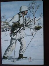 POSTCARD 2ND BN ROYAL REGIMENT OF FUSILIERS 1991 NORWAY - 2ND LIEUTENANT  ALIX B
