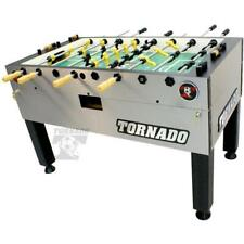 Tornado T-3000 Foosball Table In Silver Non-Coin Home Model